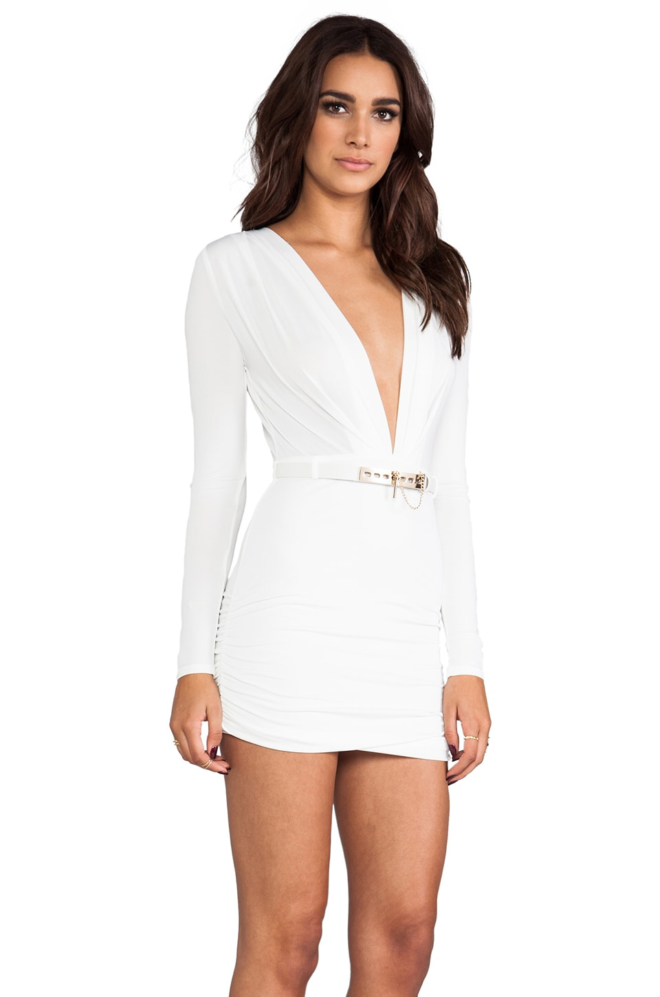 STYLESTALKER REVOLVE Exclusive Valiant Dress in Ivory