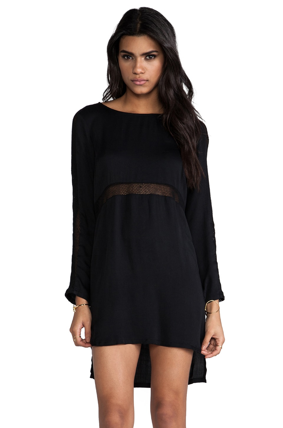 STYLESTALKER Nothing But Net Dress in Black