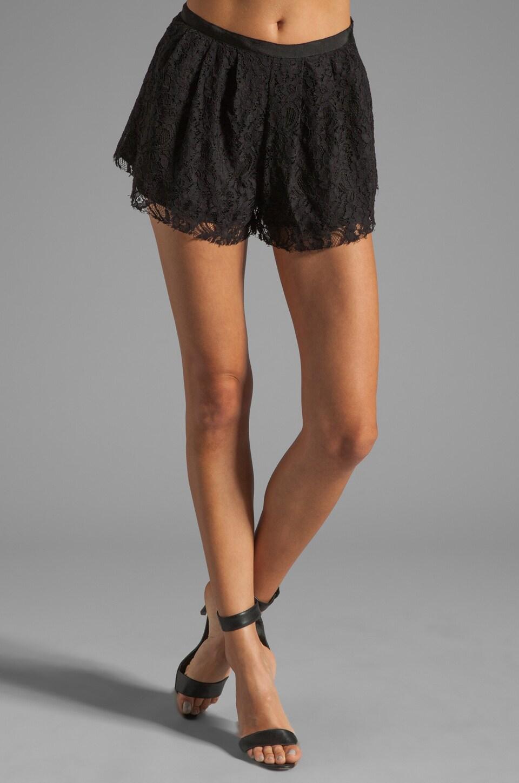 STYLESTALKER Vortex Shorts in Black