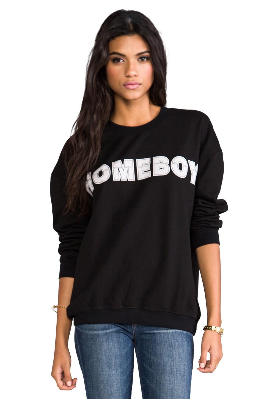 STYLESTALKER Homeboy Sweatshirt in Black