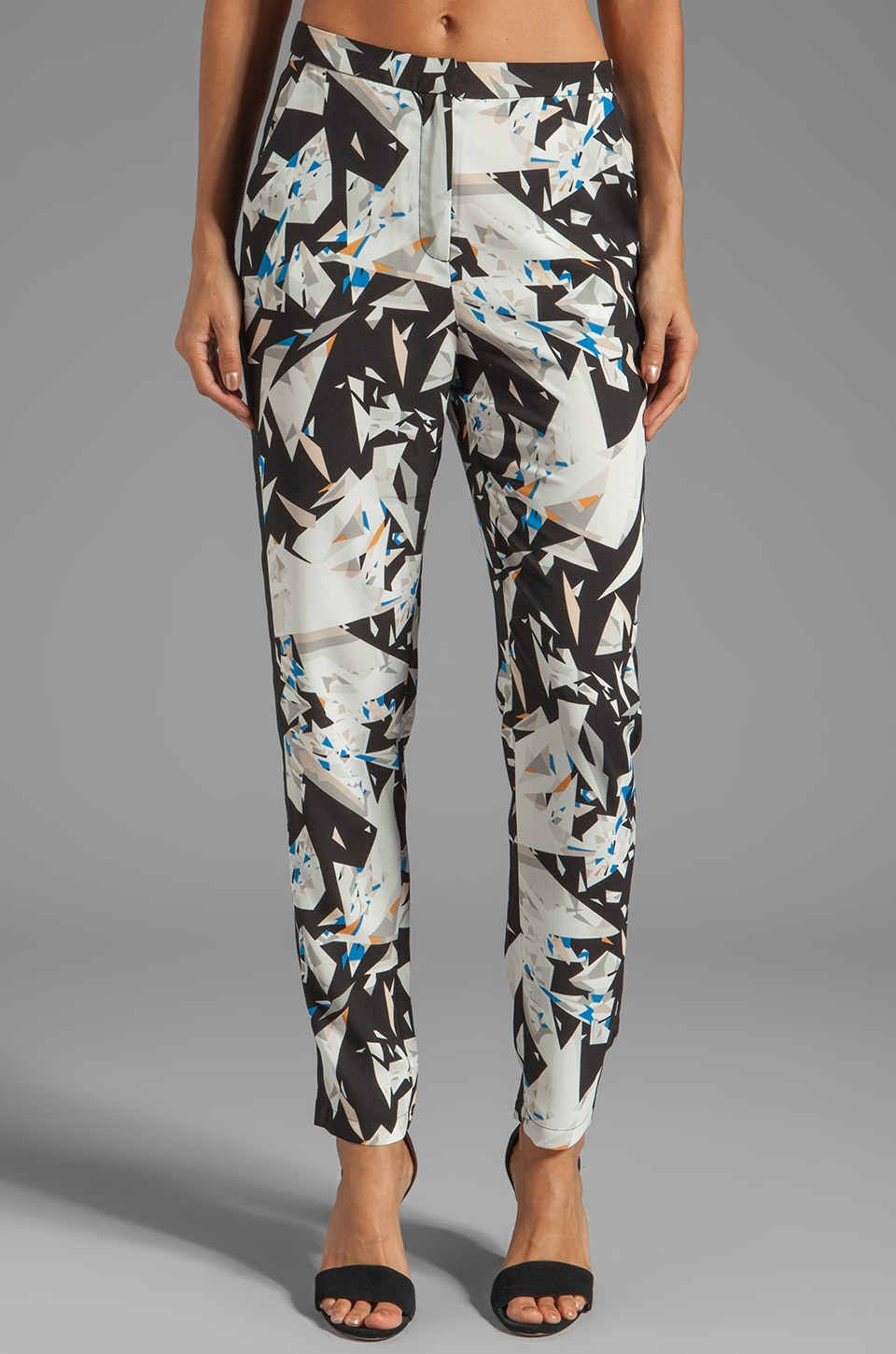 STYLESTALKER Kiss the Glass Pant in Shattered Glass Print