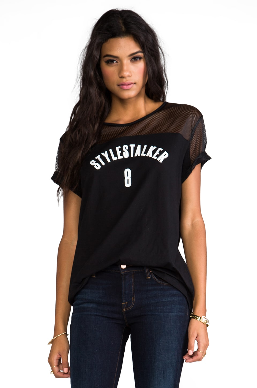STYLESTALKER No. 8 Tee in Black