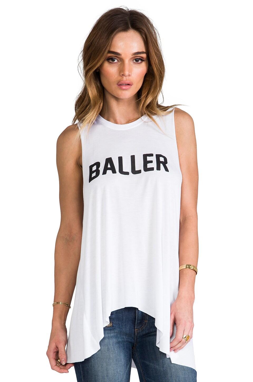 STYLESTALKER Baller Tank in White