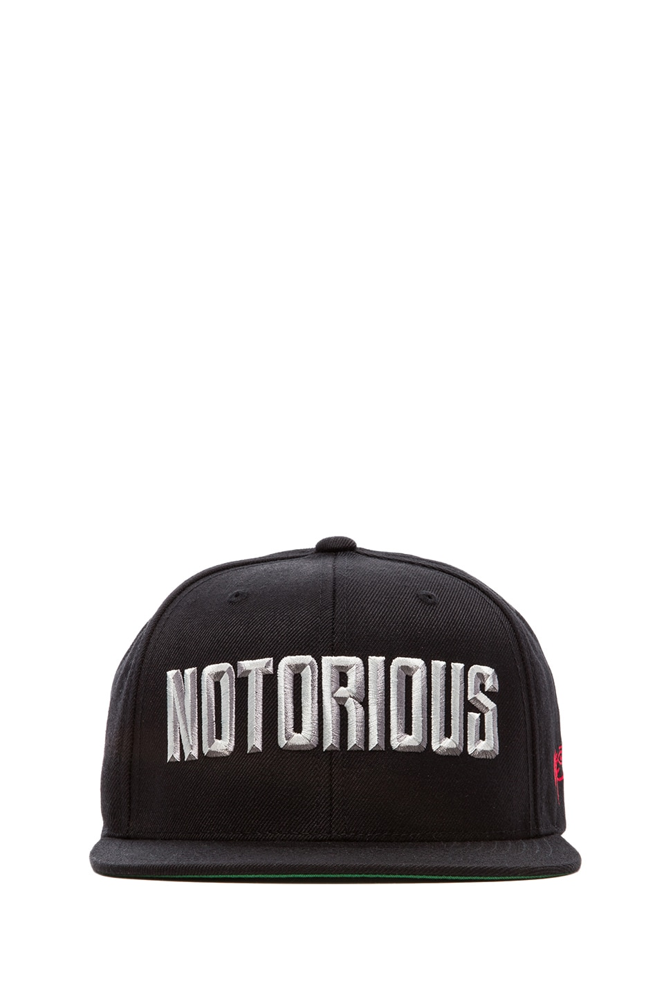 SSUR Notorious Snapback in Black