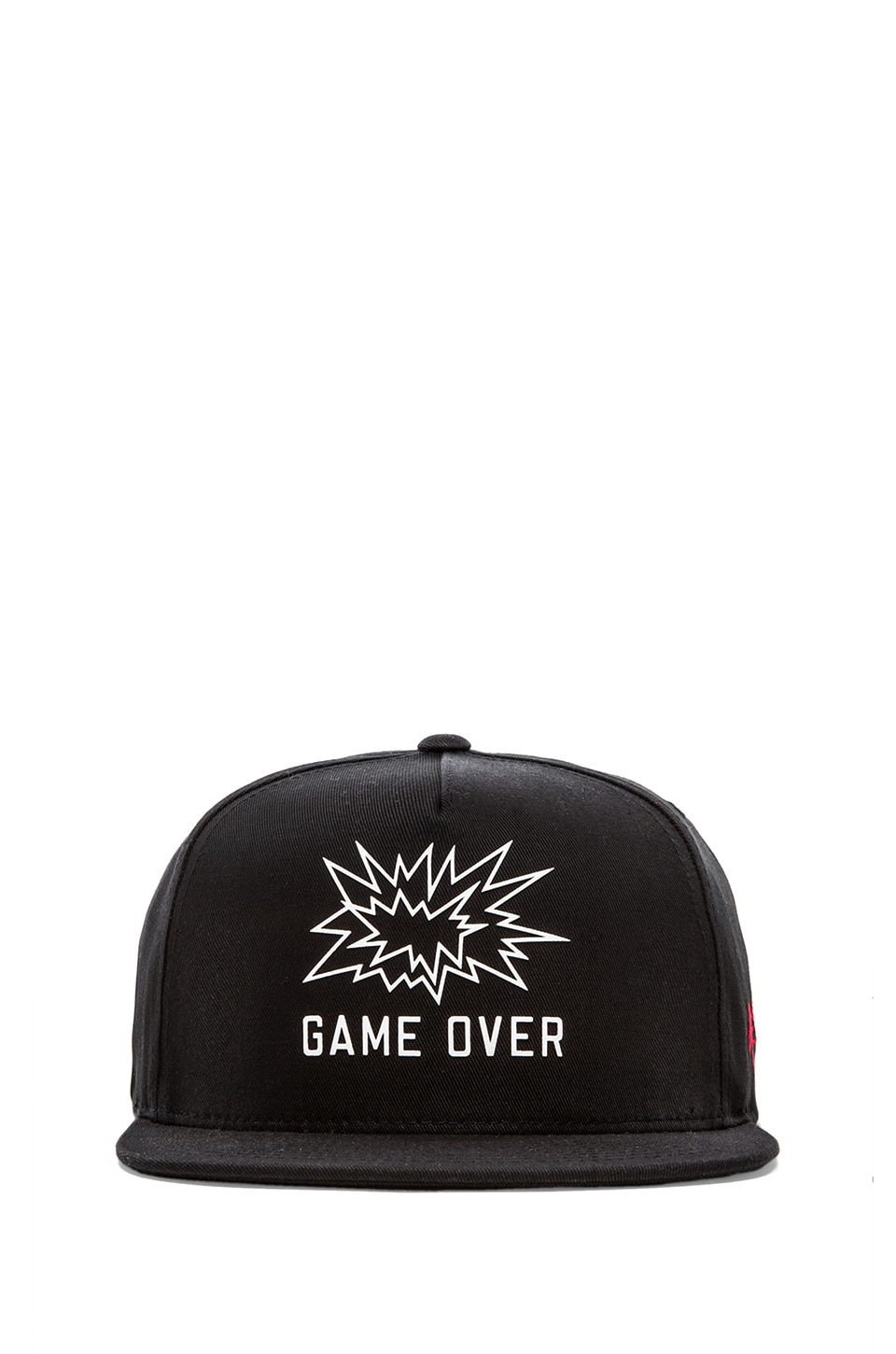 SSUR Game Over Snapback in Black