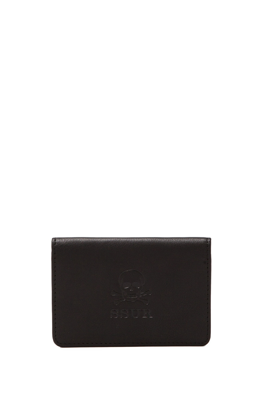 SSUR FYPM Card Holder in Matte Black