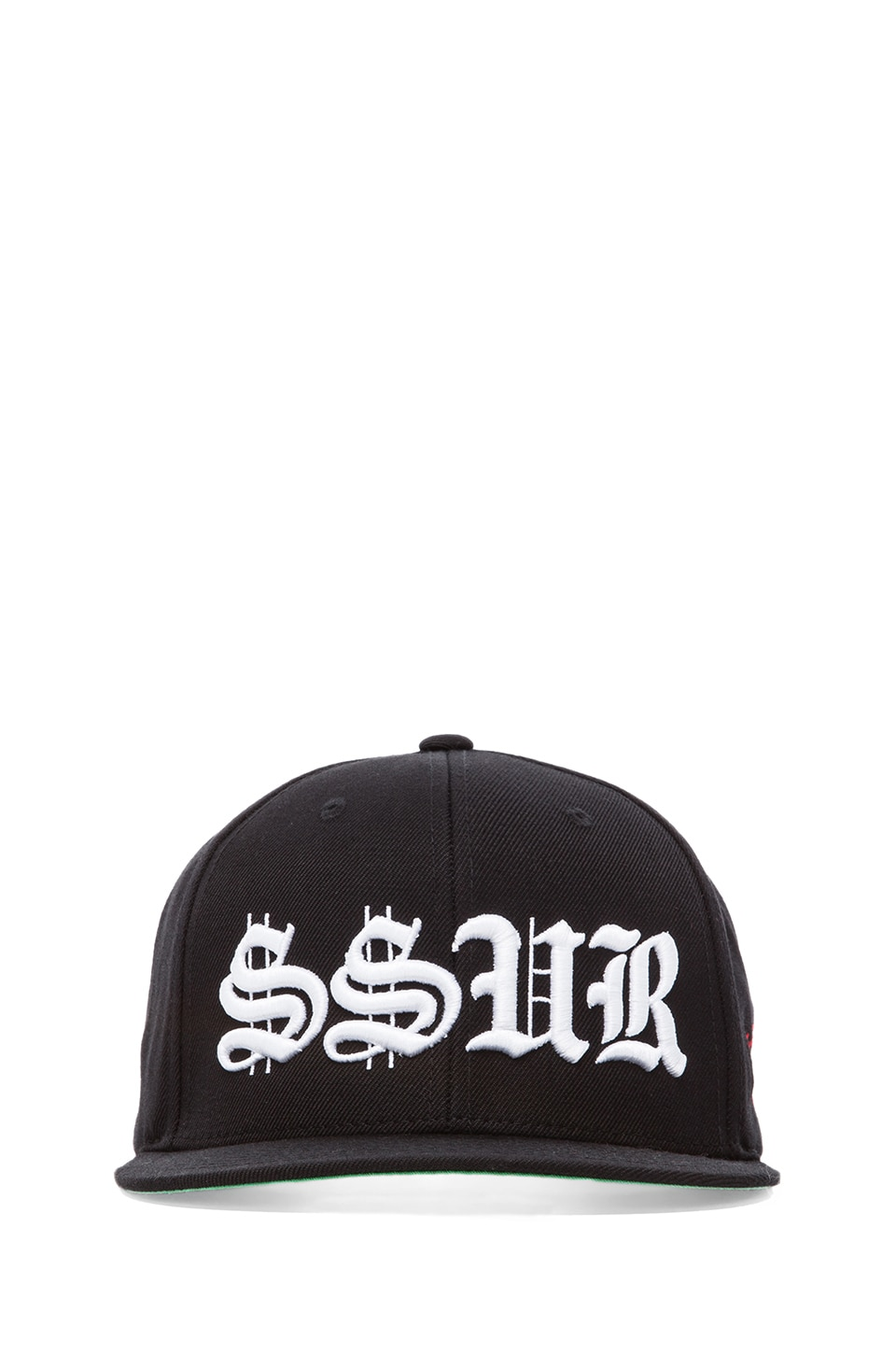 SSUR Old English Snapback in Black