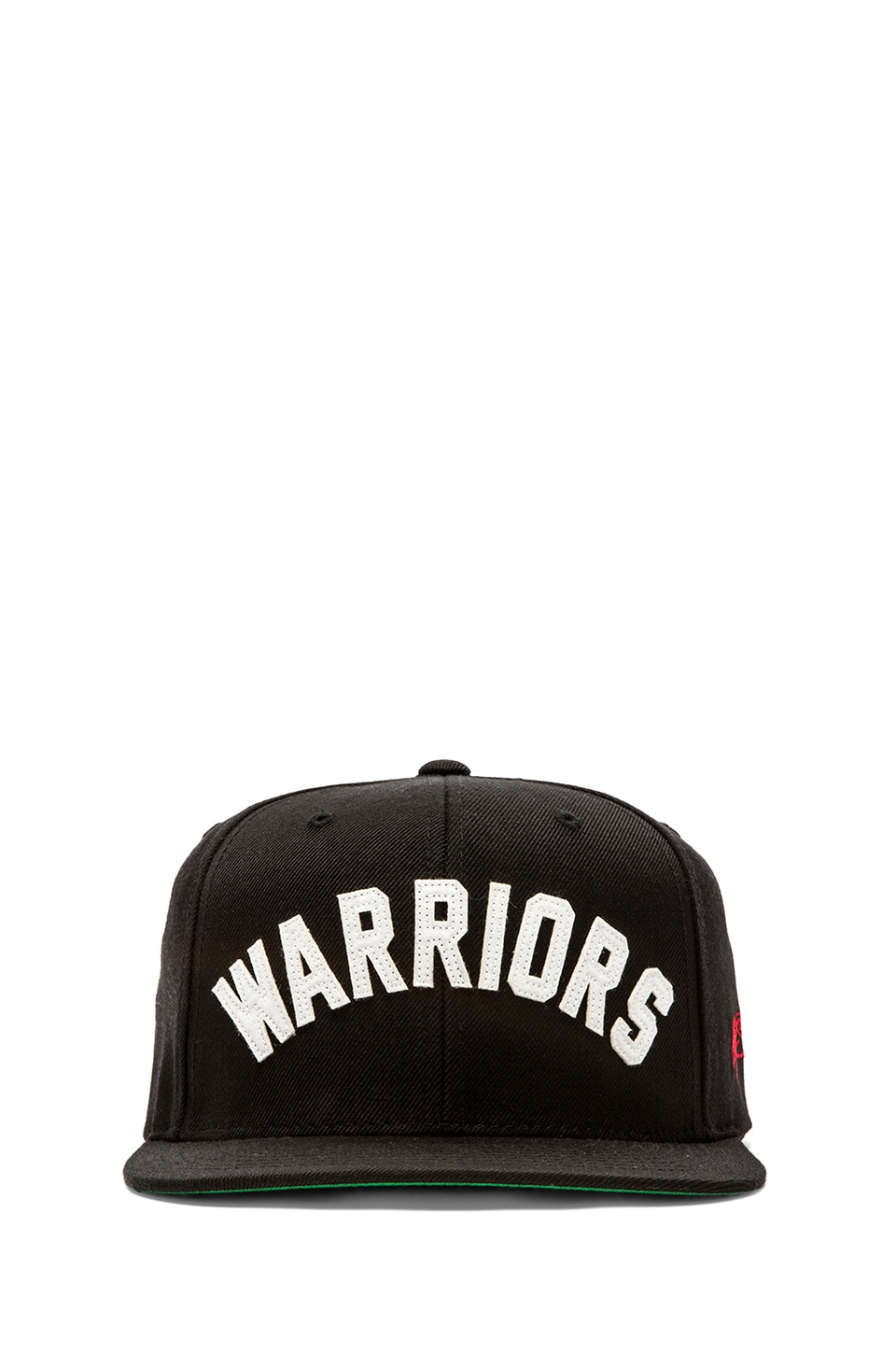 SSUR Warriors Arched Snapback in Black