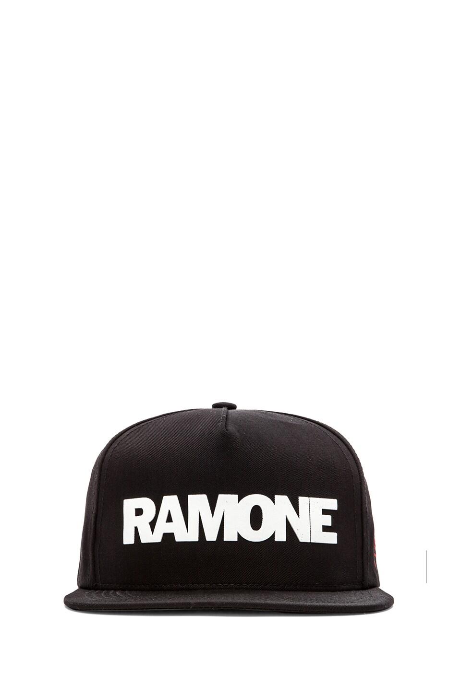 SSUR Ramone Snapback in Black