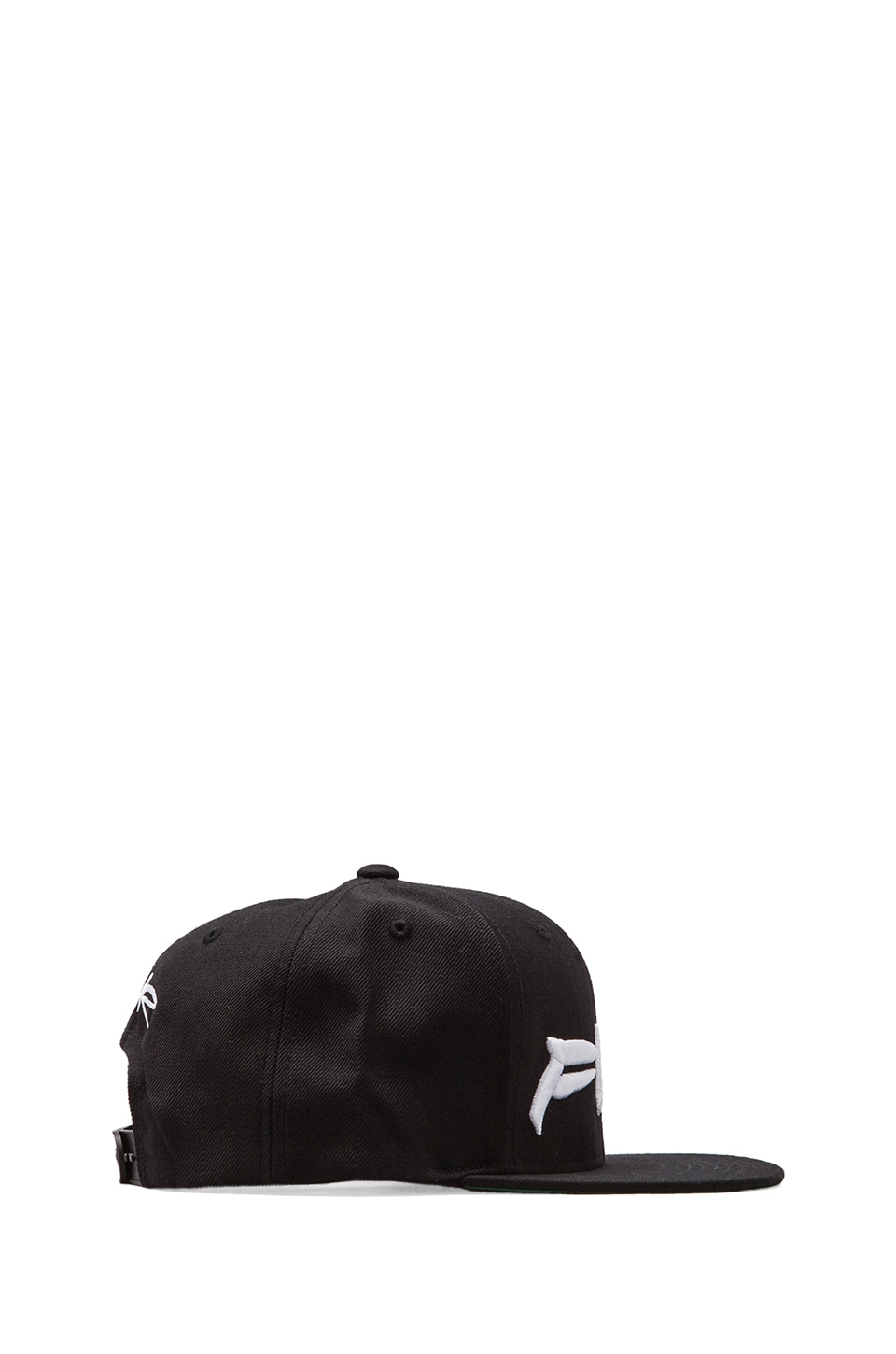SSUR Futura Fuck Snapback in Black/White
