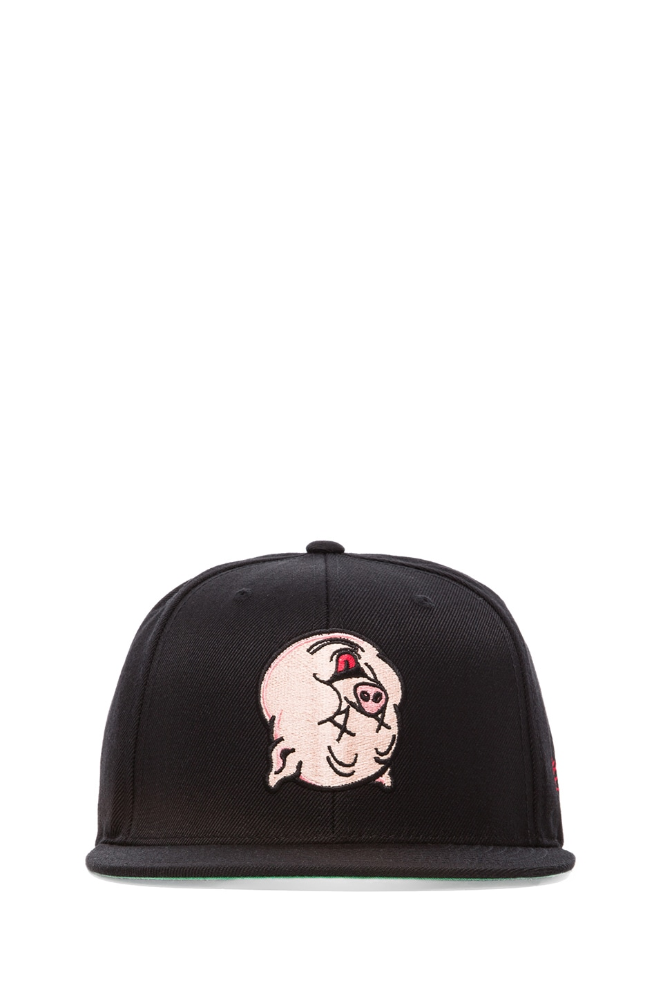SSUR Capitalist Pig Snapback in Black