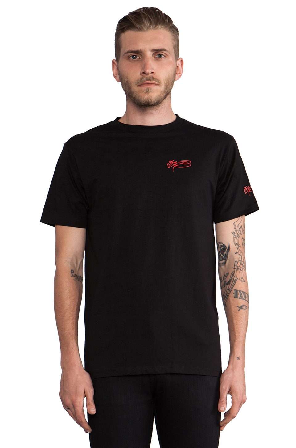 SSUR Capitalist Pig Tee in Black