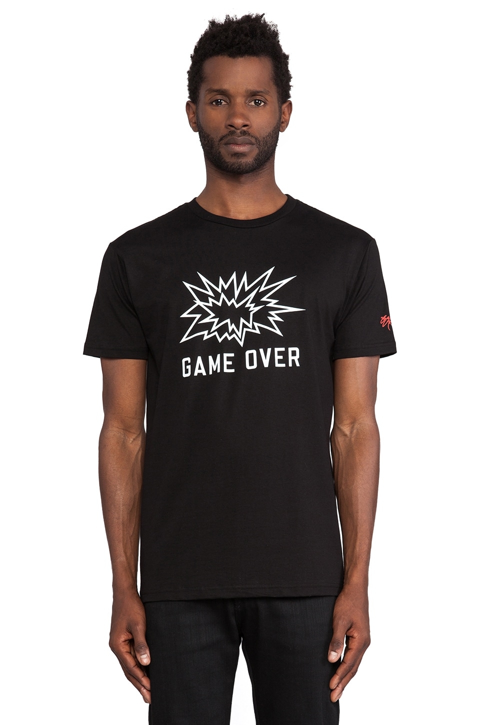 SSUR Game Over Tee in Black