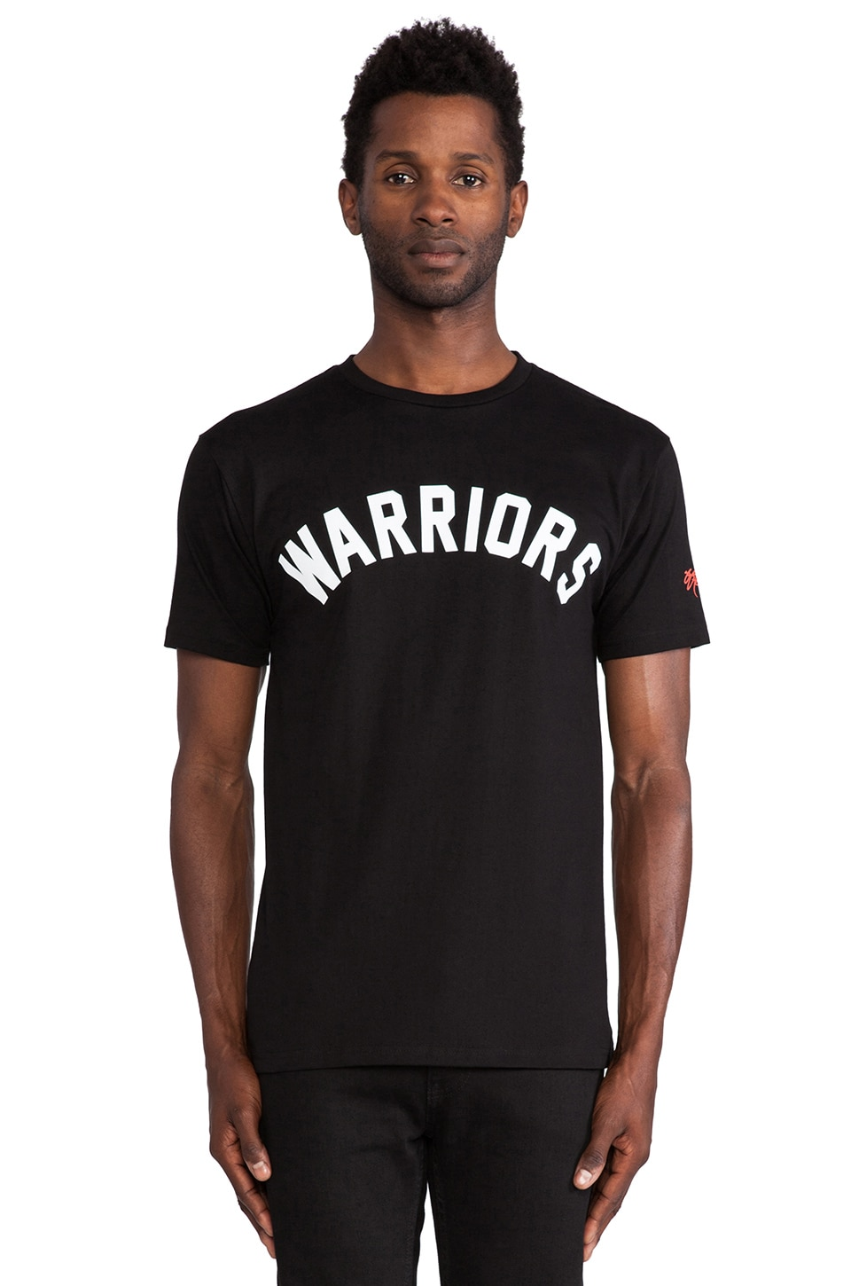 SSUR Warriors Arched Tee in Black