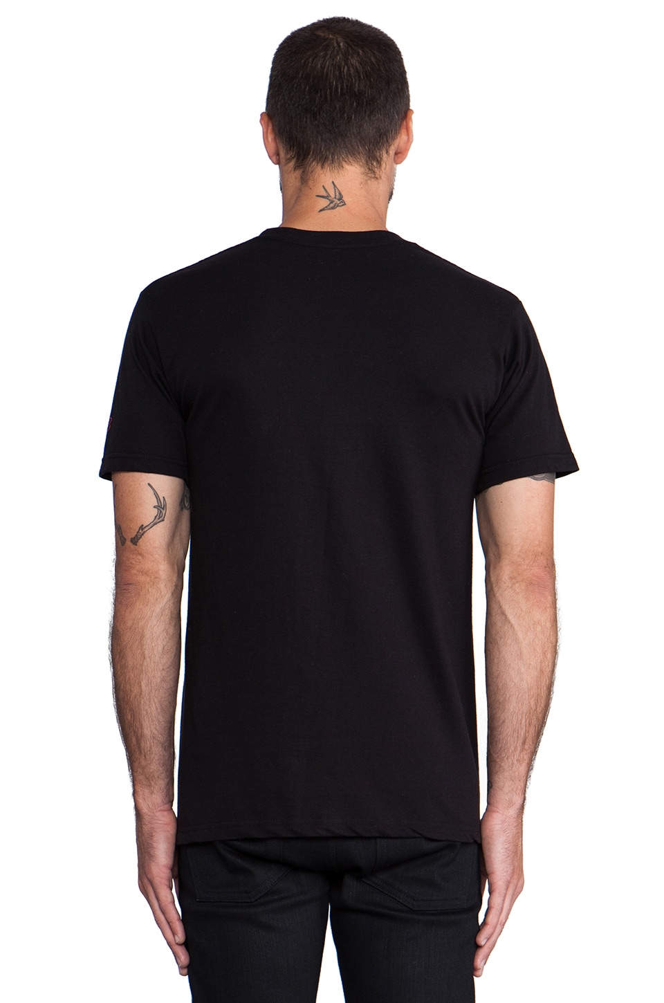 SSUR Misfit Tee in Black/White