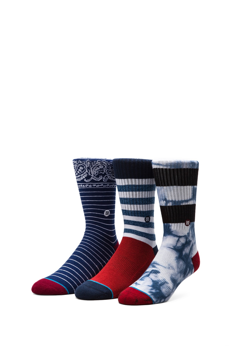 Stance 3-Pack in Milo/ Garcia/ Driggs