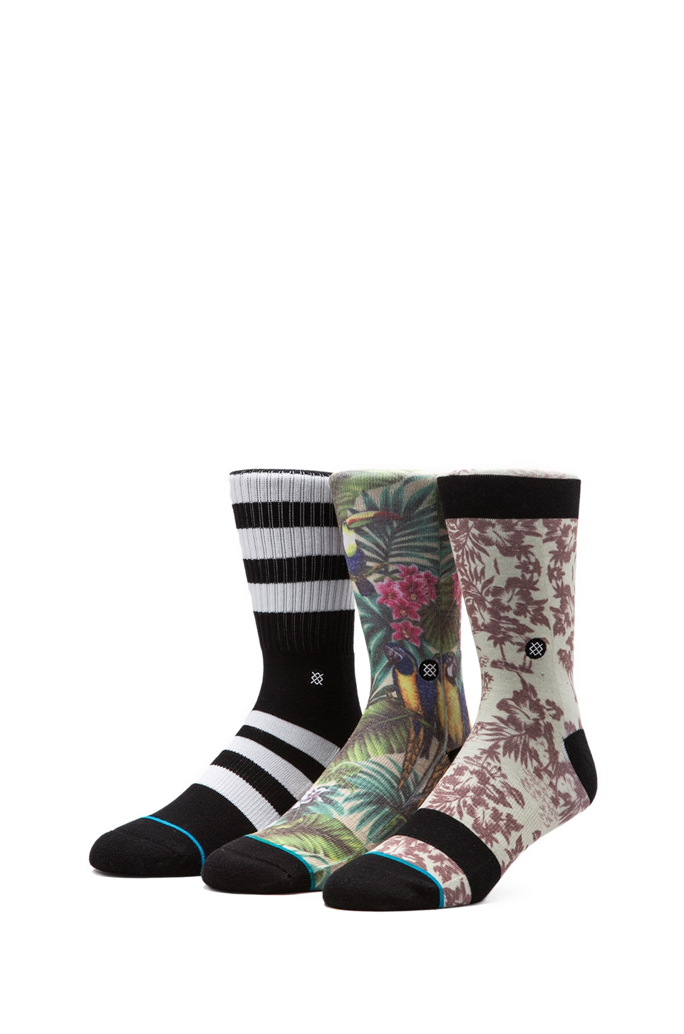 Stance 3-Pack in Waipio/ Shift/ 20 Eyes