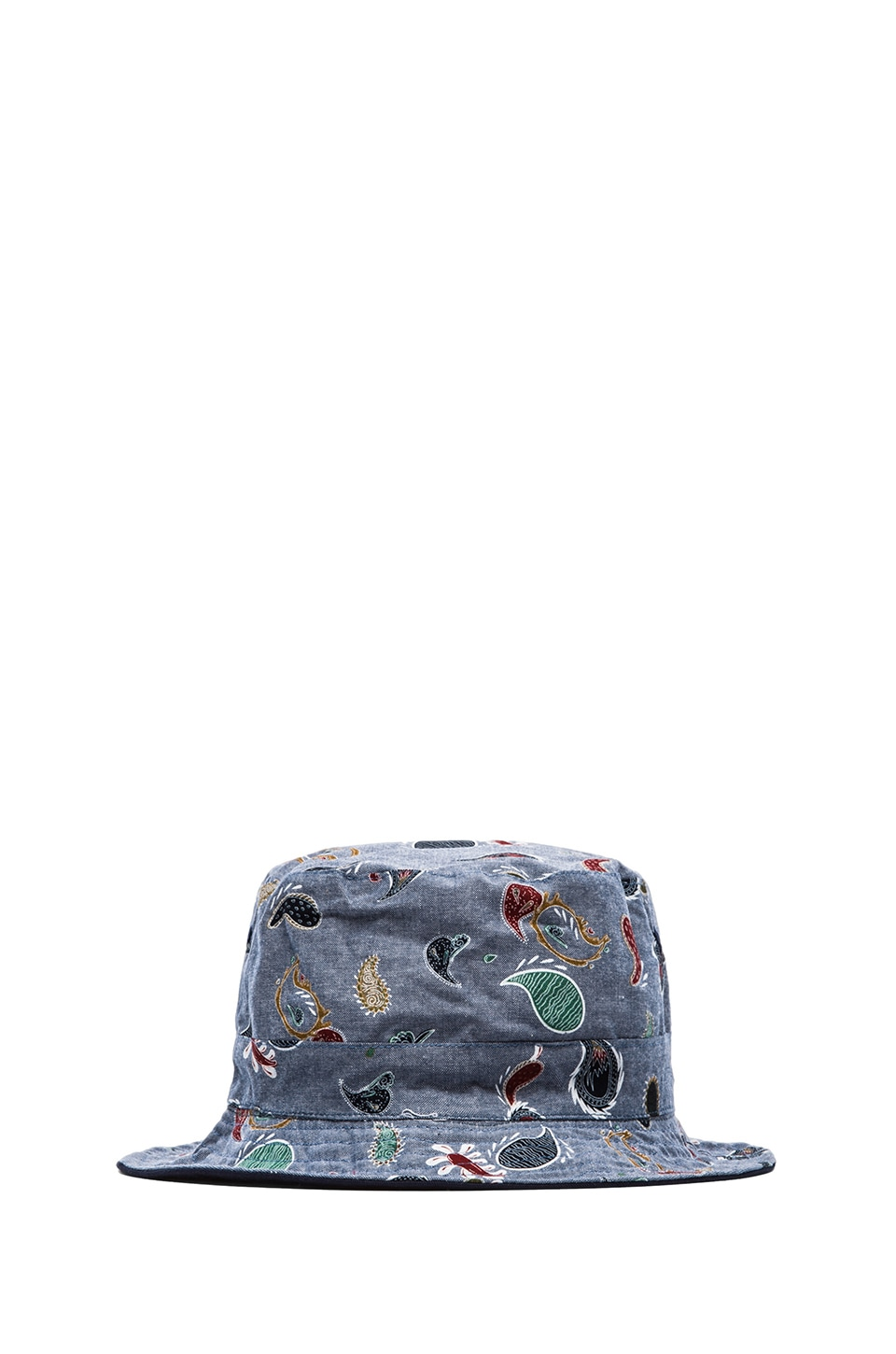 Staple Thorpe Bucket Cap in Indigo