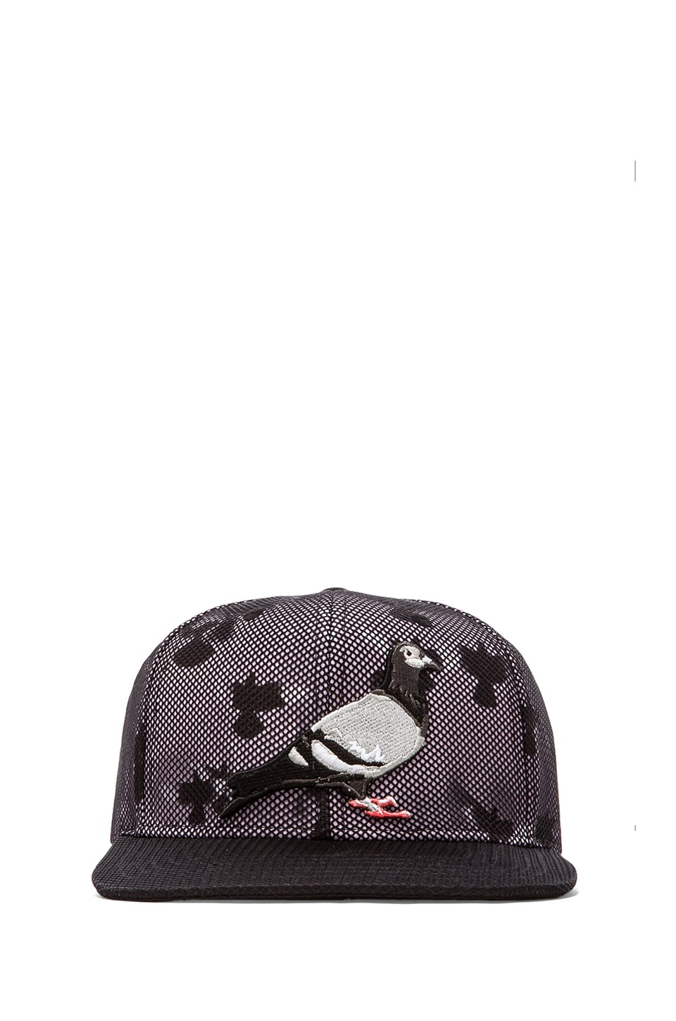 Staple Inverse Pigeon Snapback in Black
