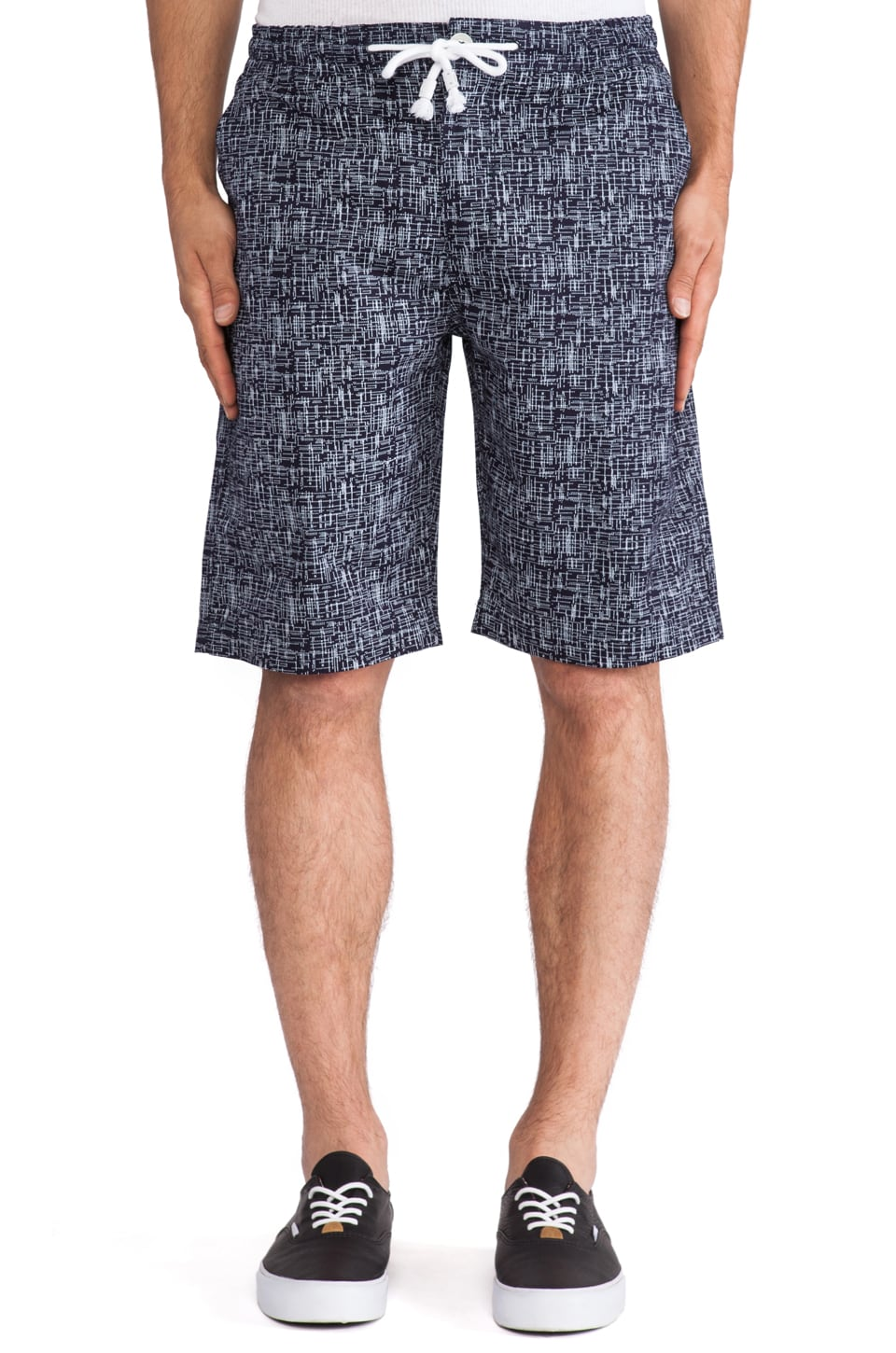 Staple Culebra Twill Short in Indigo