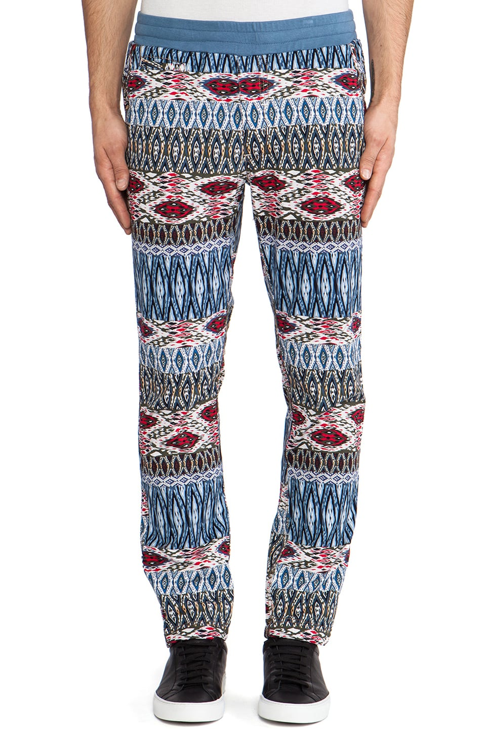 Staple Asante Cinch Pant in Indigo