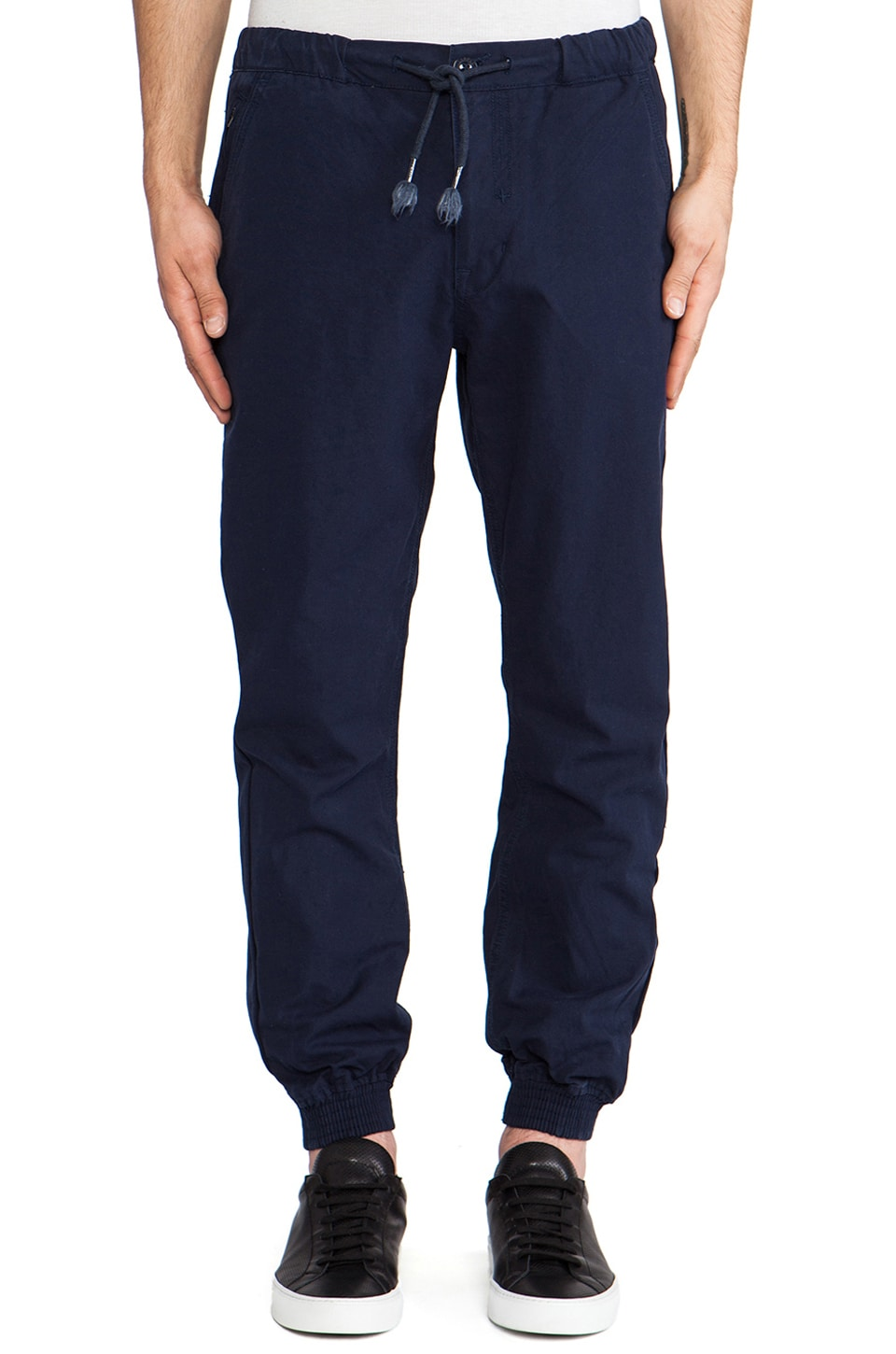 Staple Walton Cuff Pant in Blue
