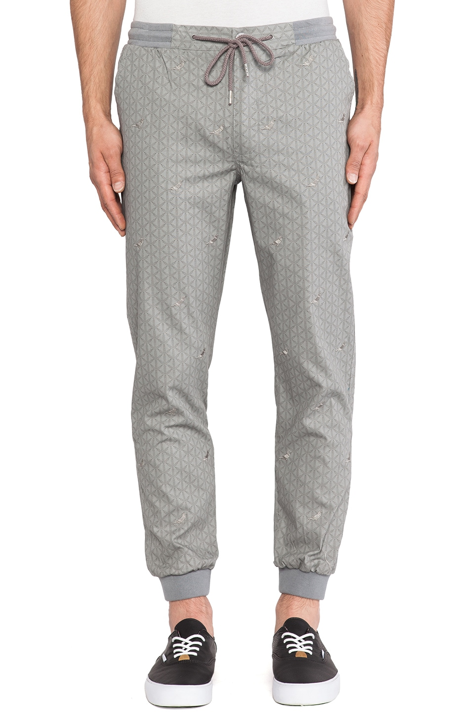 Staple Pigeon Lux Cuff Pant in Grey