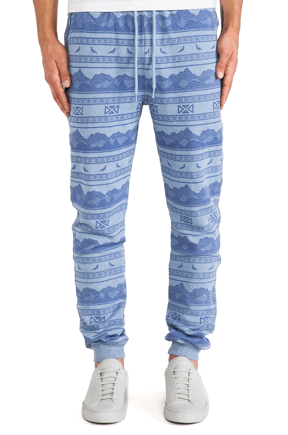 Staple Badlands Sweatpant in Indigo