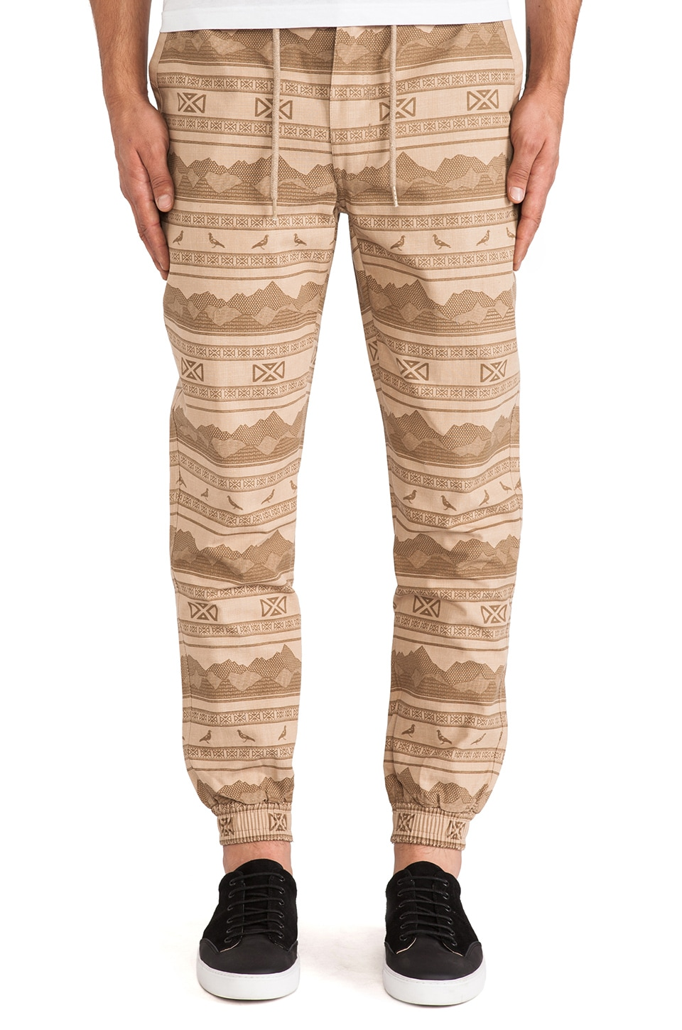 Staple Kalahari Cuff Pant in Sand