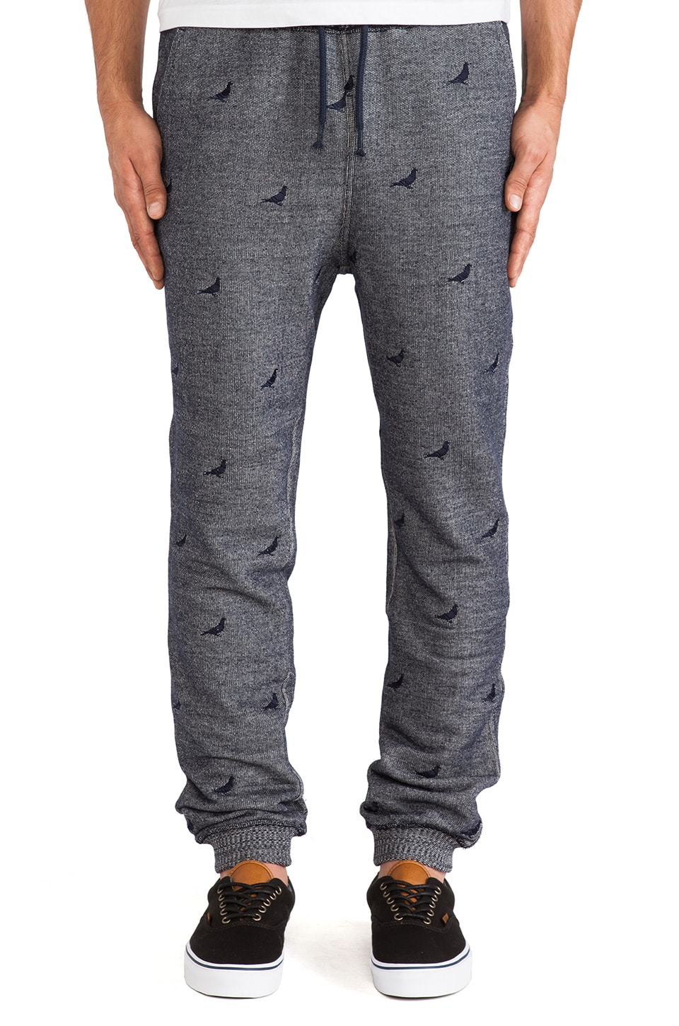 Staple Repeat Pigeon Sweatpant in Indigo
