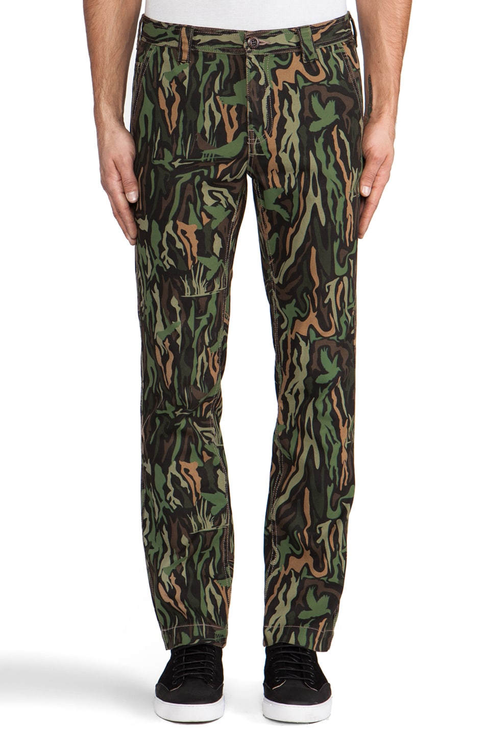 Staple Bushwick Pants in Camo