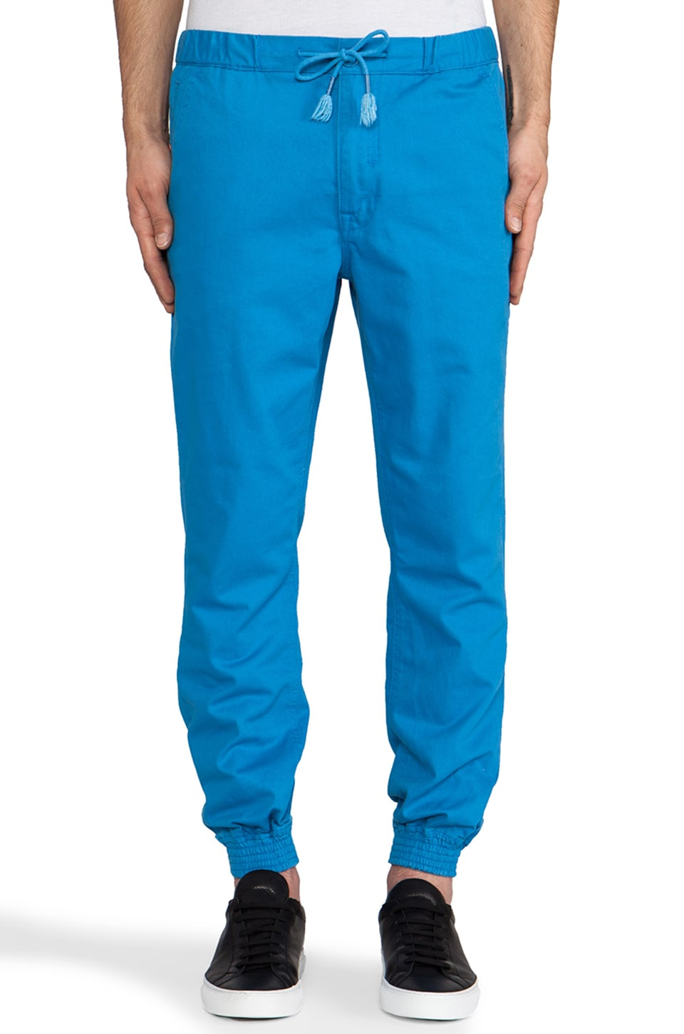 Staple Vito Cuff Pant in Blue