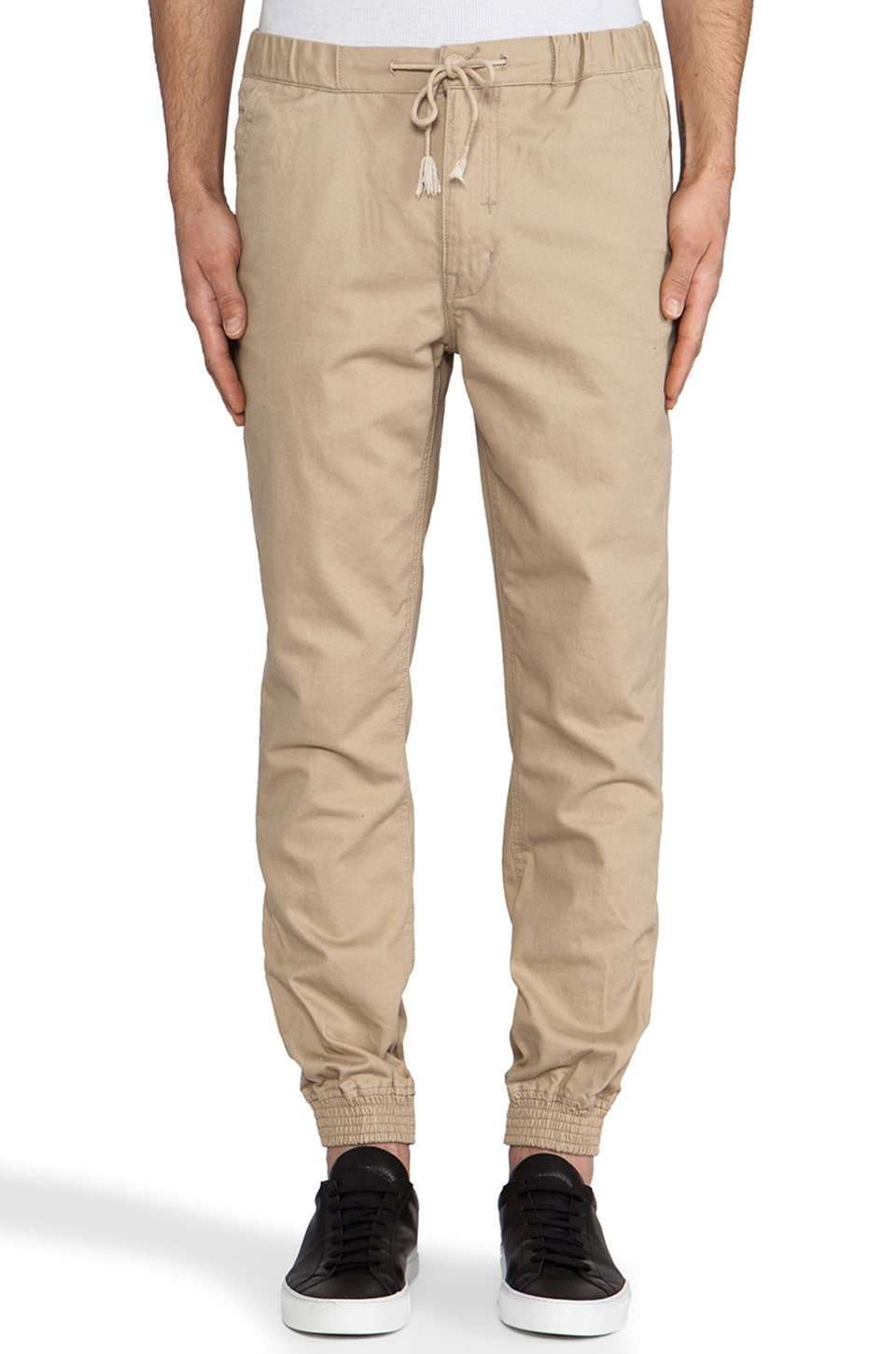 Staple Vito Cuff Pant in Khaki
