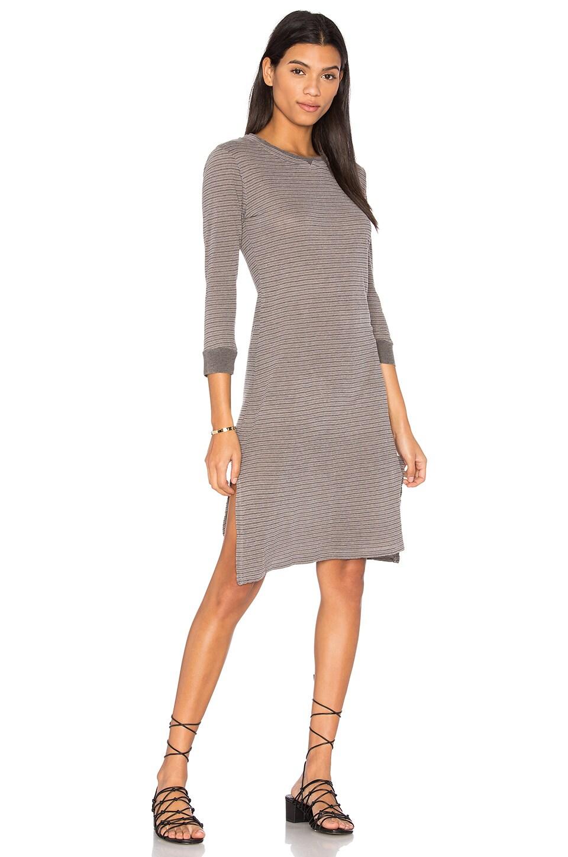 Heather Stripe Midi Dress by Stateside