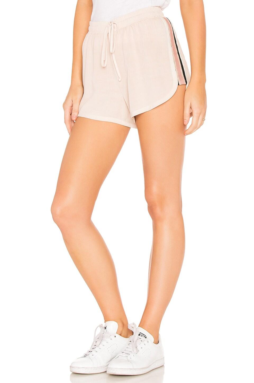 Washed Rayon Shorts