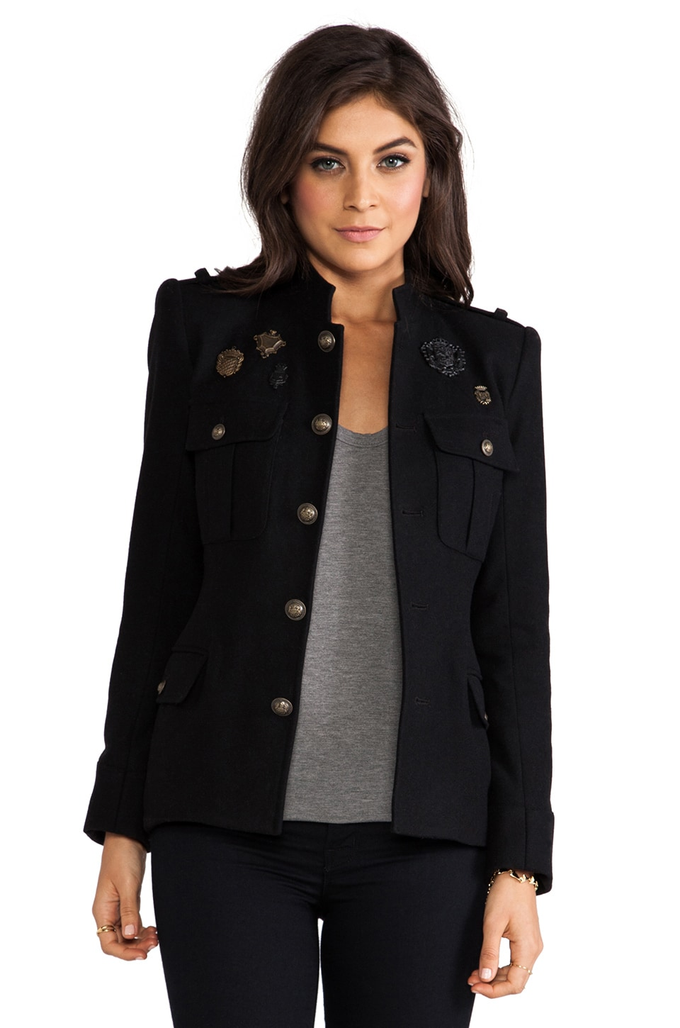 Skaist Taylor Cadel Medals Jacket in Black
