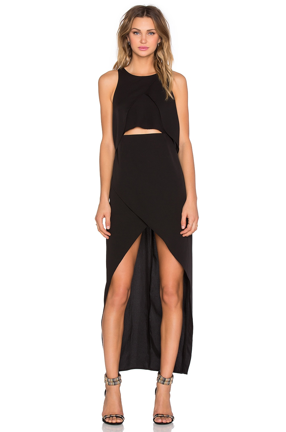 State of Being Moonless Night Dress in Black