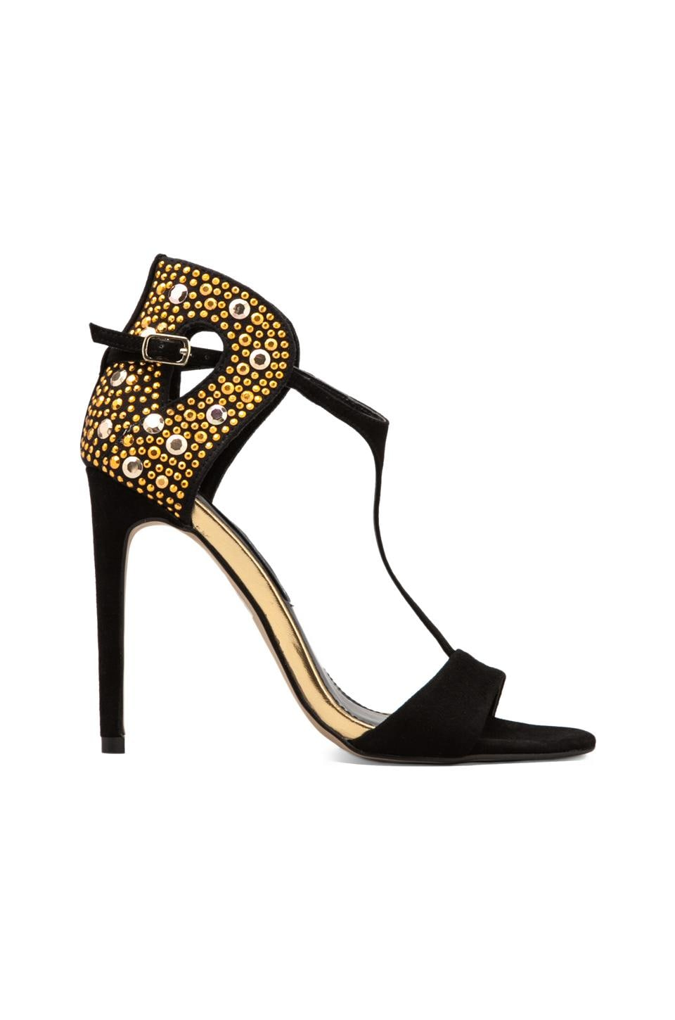 Steven Sertia Heel in Gold Multi
