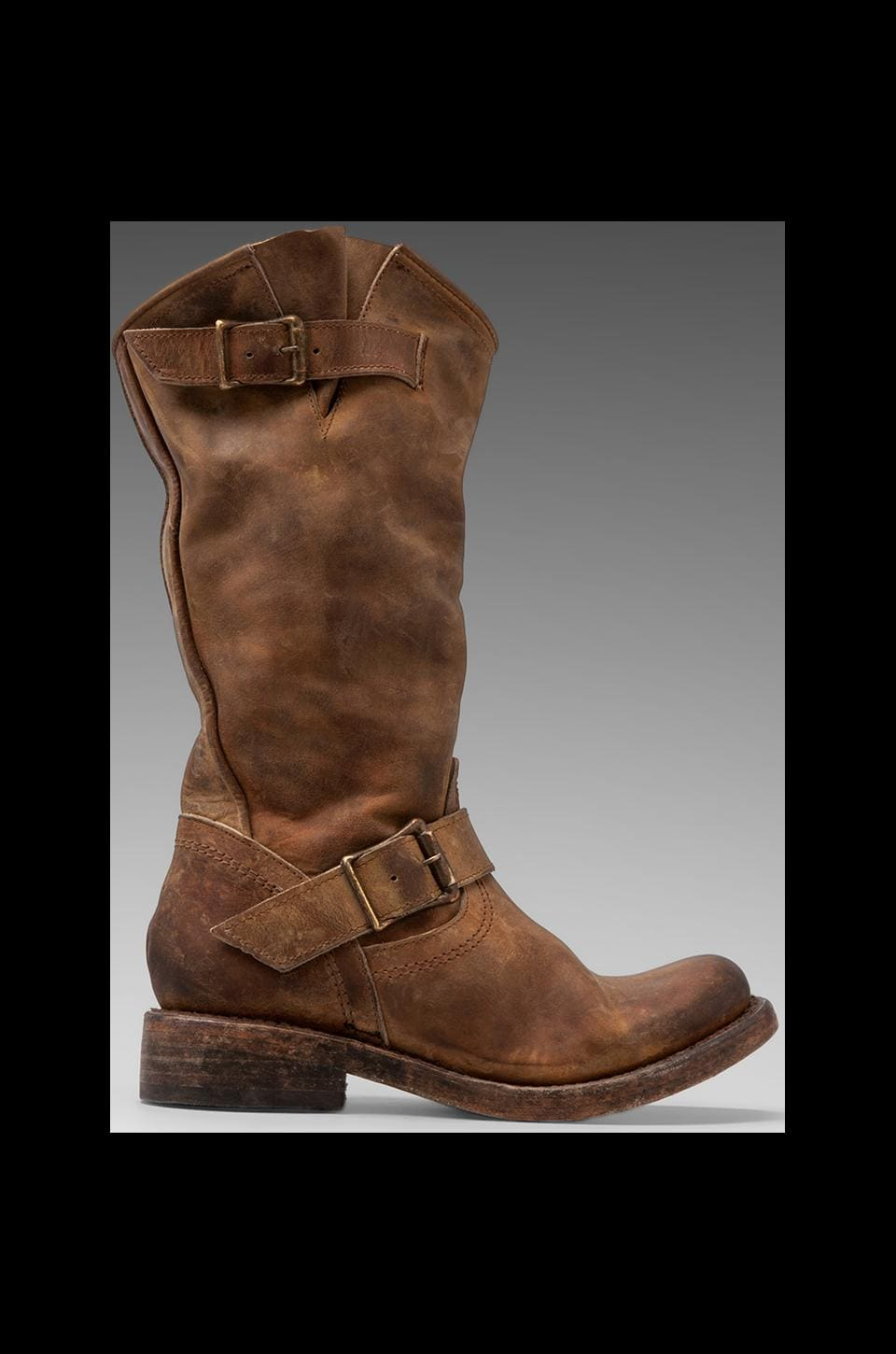 Steven Crosby Boot in Tan