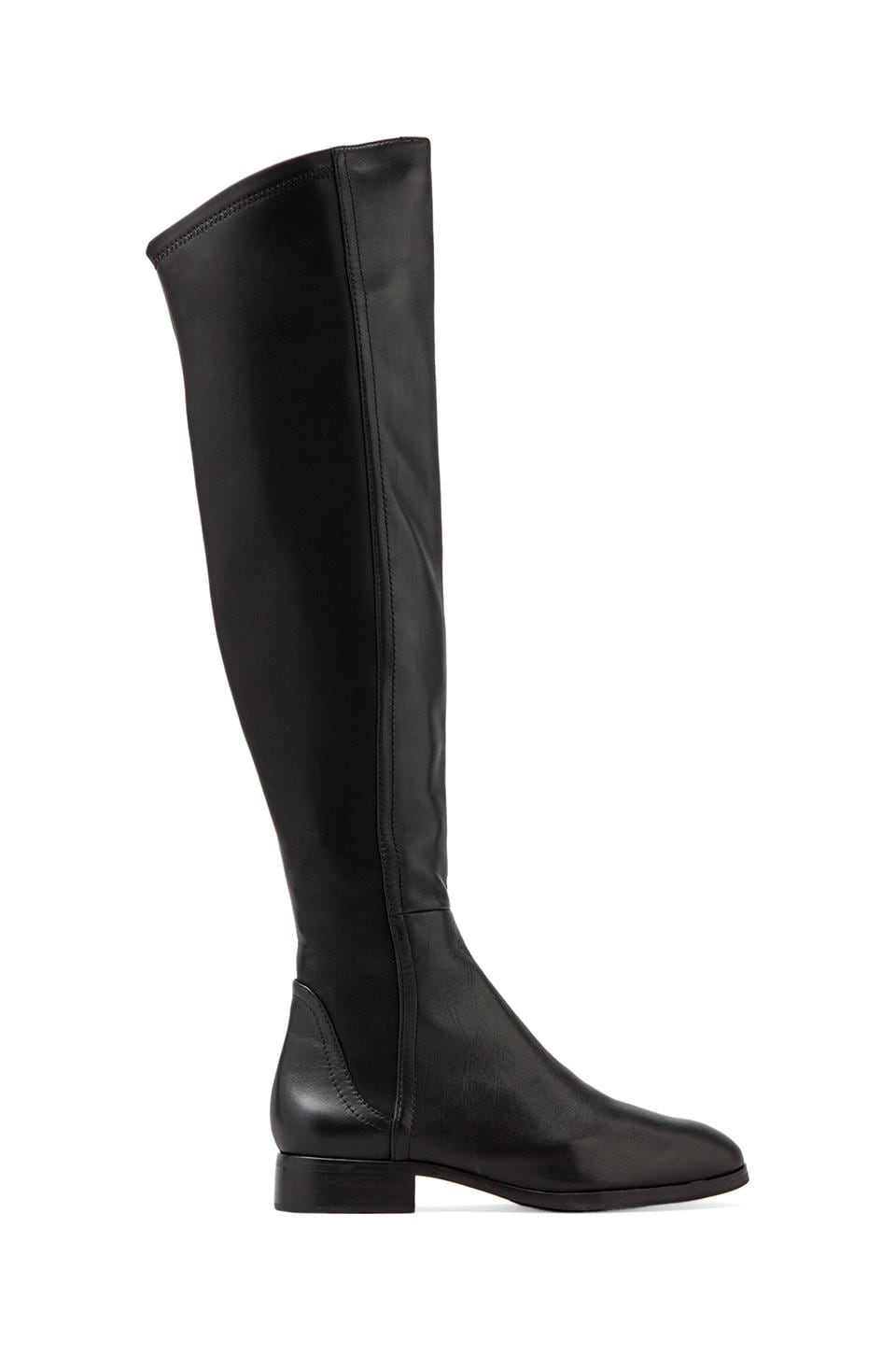 Steven Eden Over The Knee Boot in Black Multi