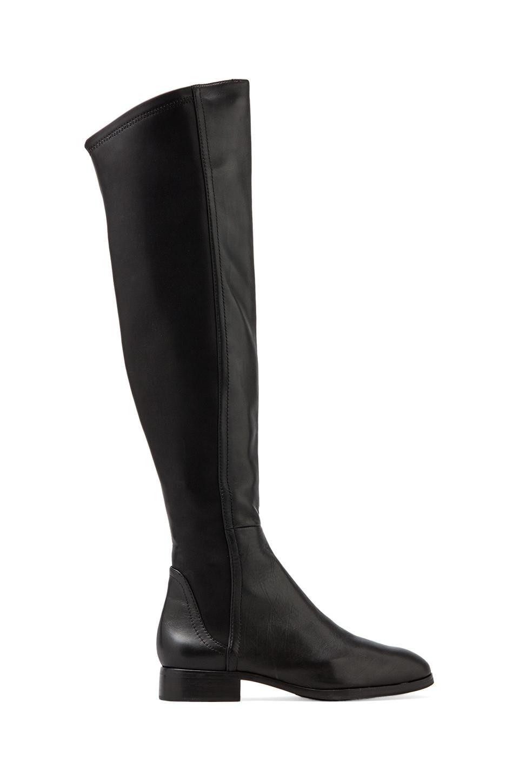 Steven Eden Over The Knee Boot in Black Multi