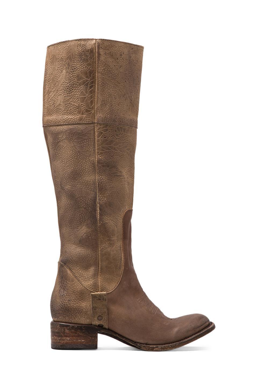 Steven Wrangler Boot in Grey
