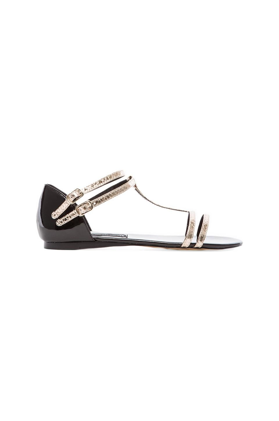 Steven Keliina Sandal in Black Multi