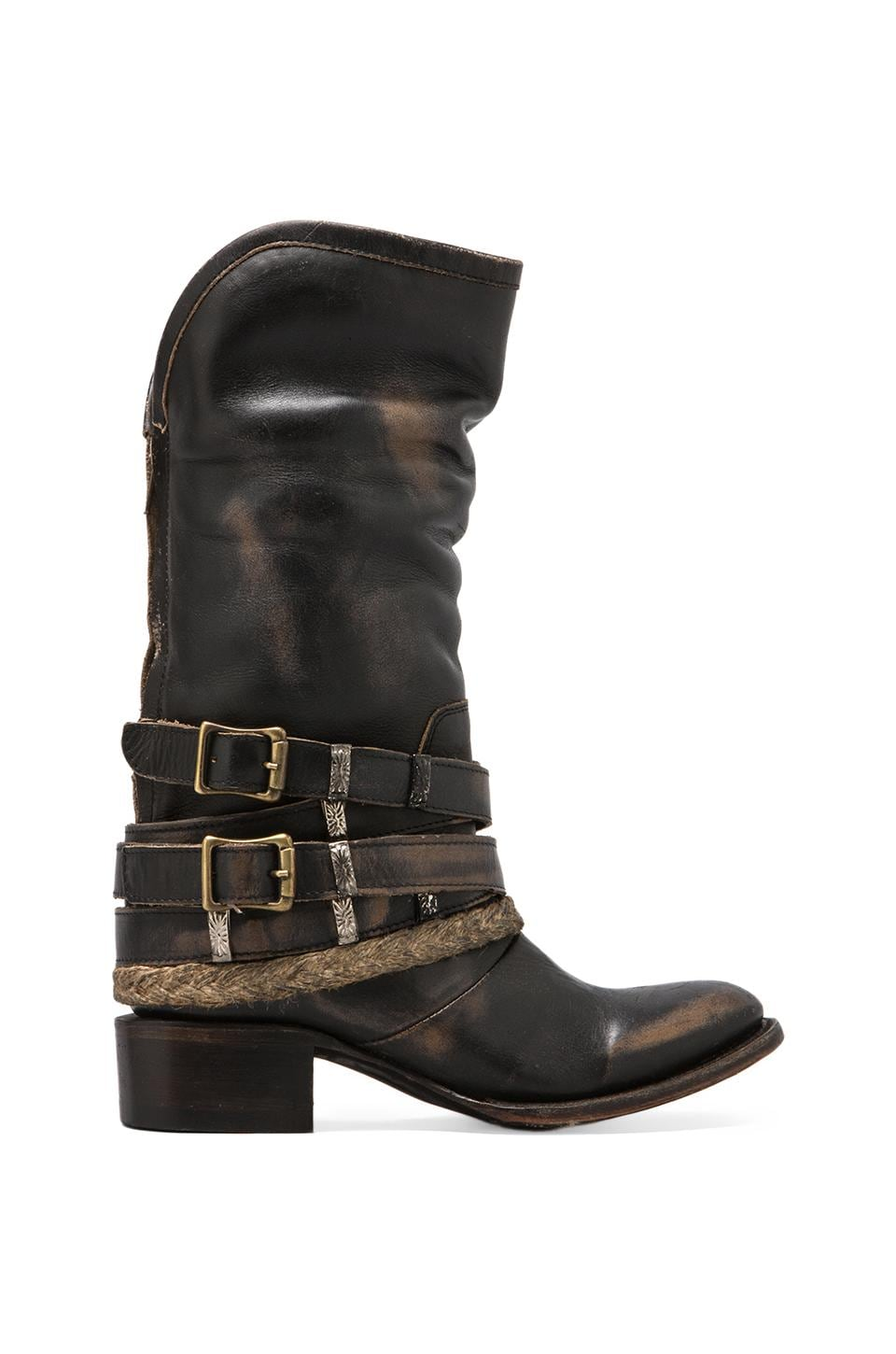 Steven Drover Boot in Black