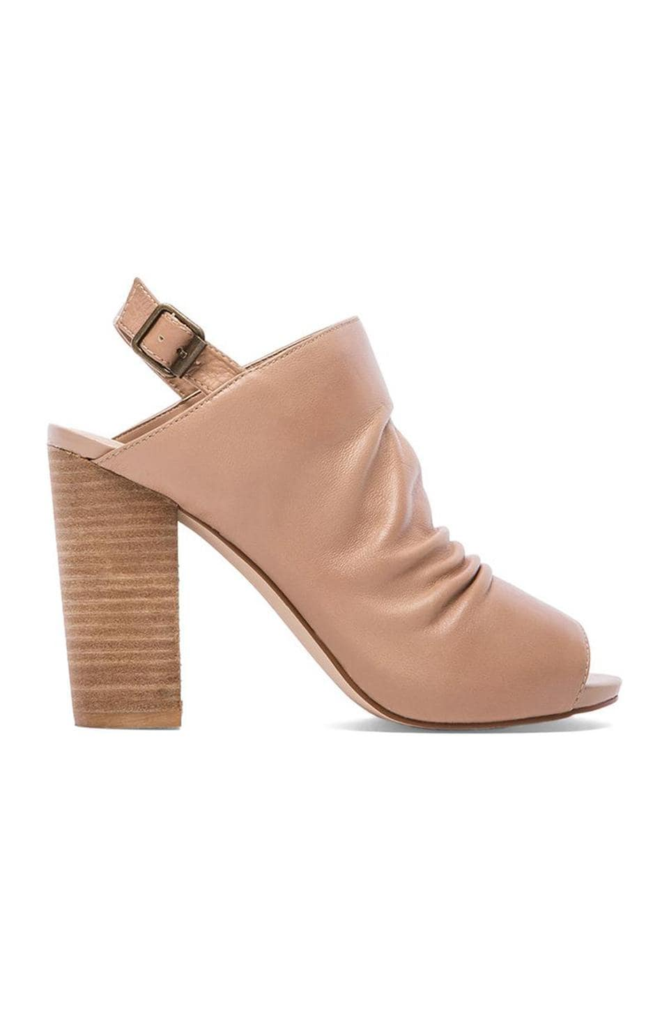 Steven Saliem Heel in Natural Leather