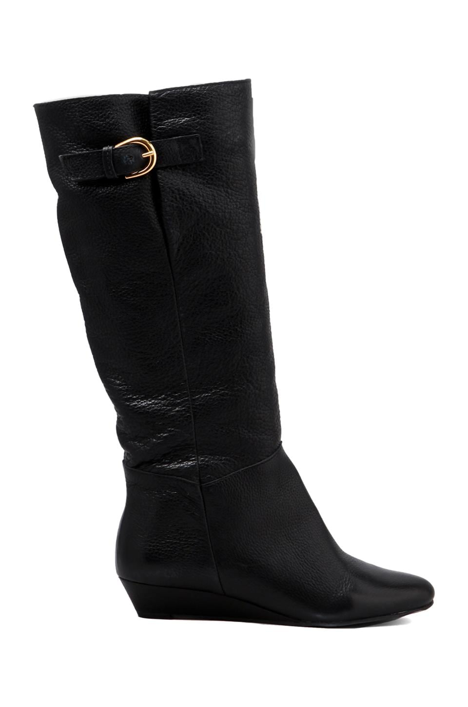 Steven Intyce Boot in Black Leather