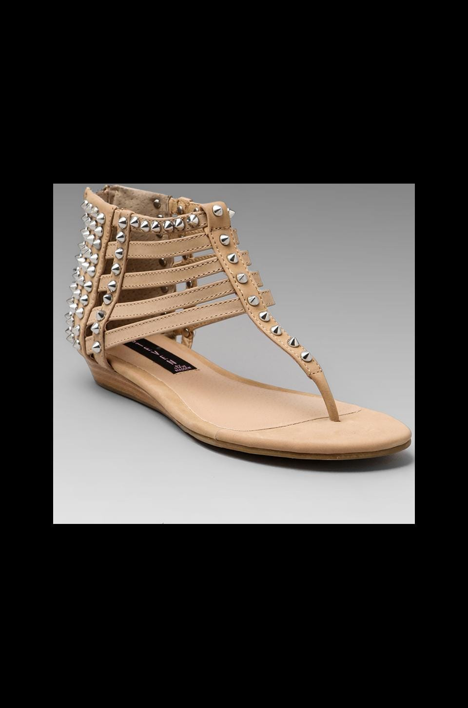 Steven Indyana Sandal in Blush Leather