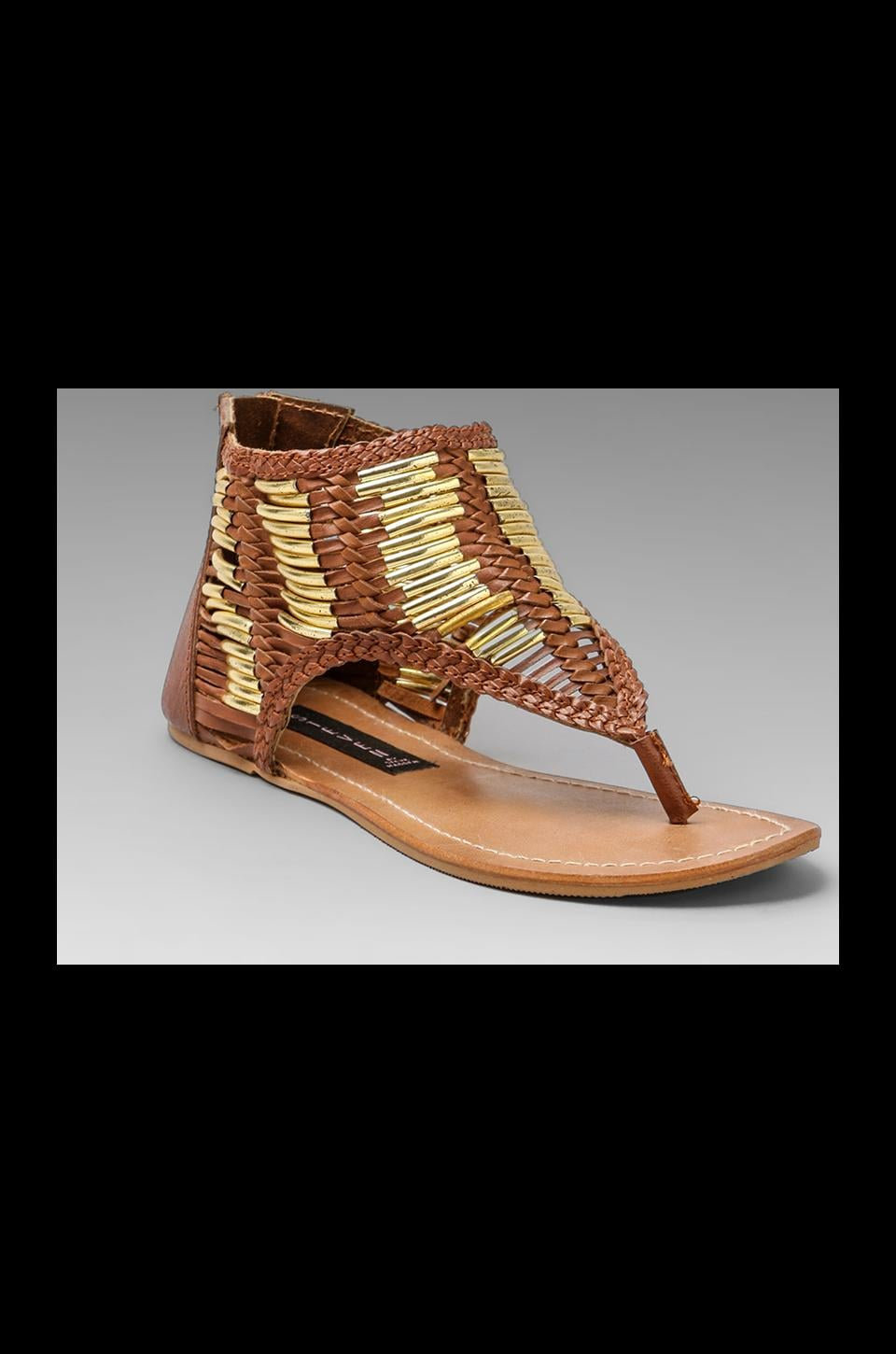 Steven Vega Sandal in Bone Multi