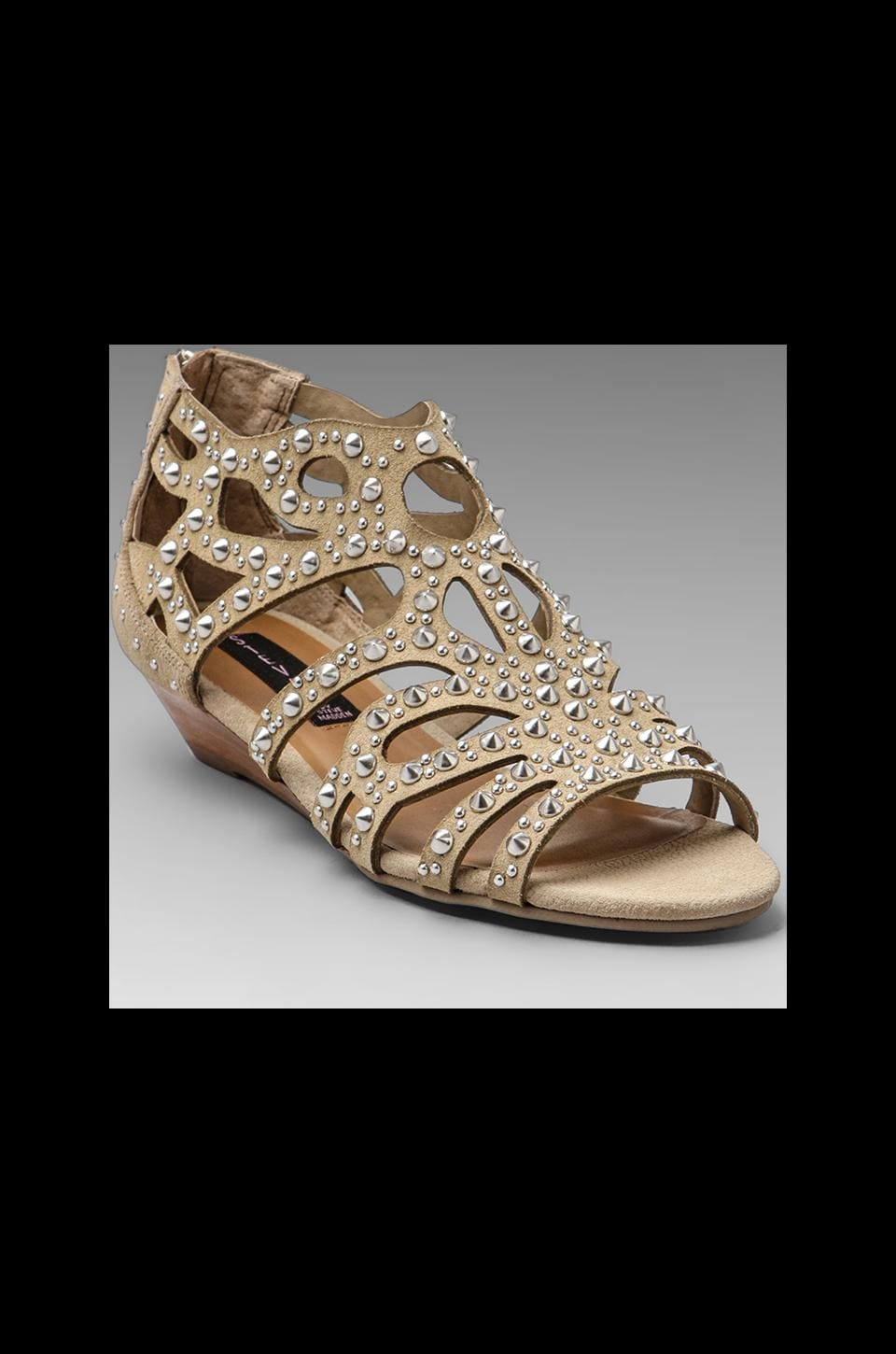 Steven Trex Sandal Wedge in Taupe