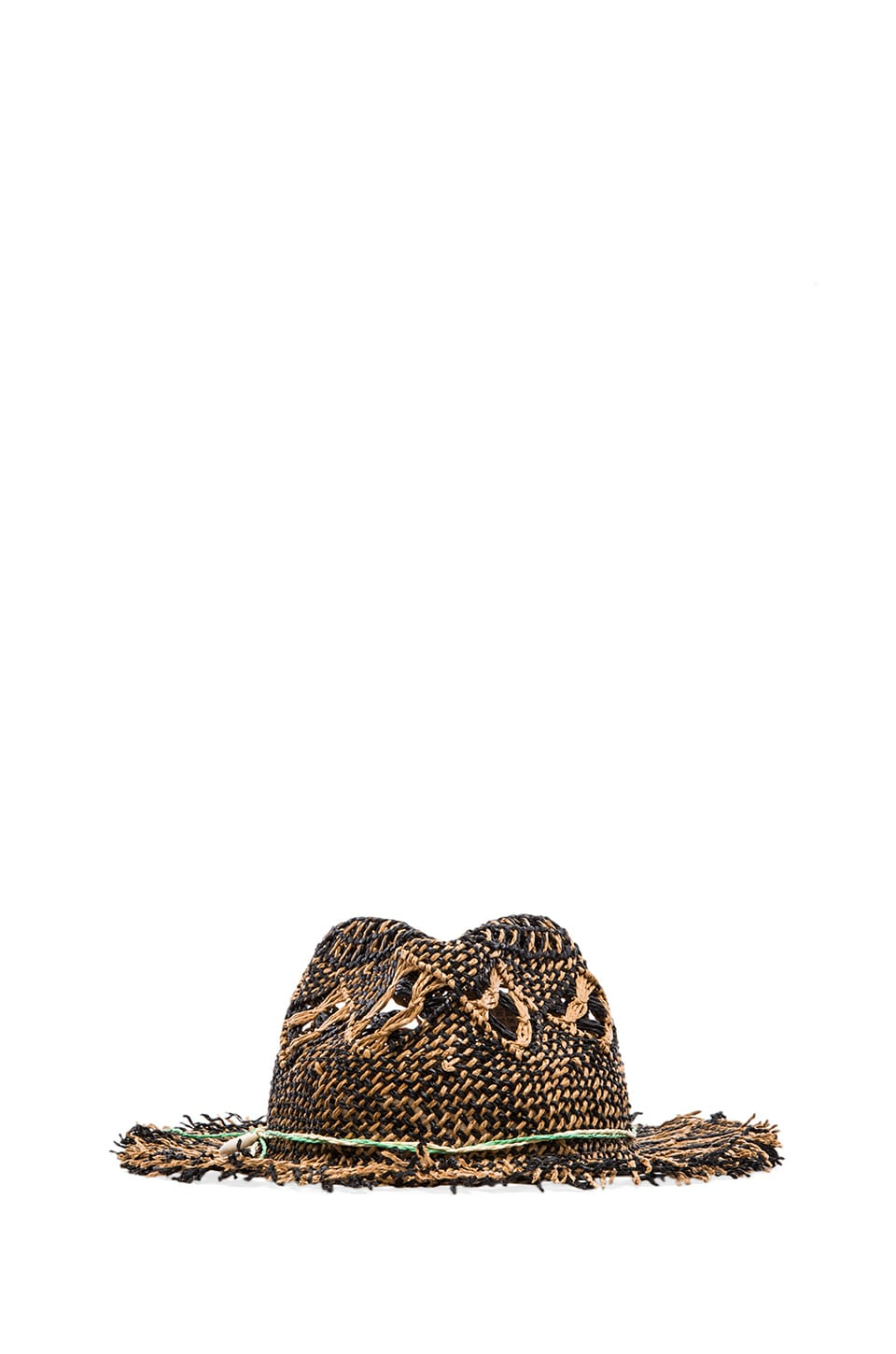 Scotch & Soda Robinson Crusoe Hat in Brown & Black